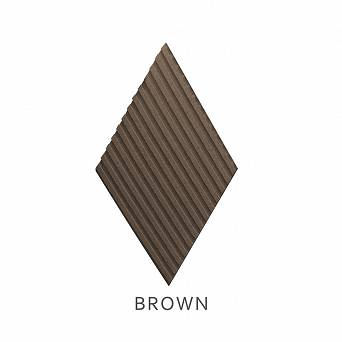Panel ścienny Stripe BROWN